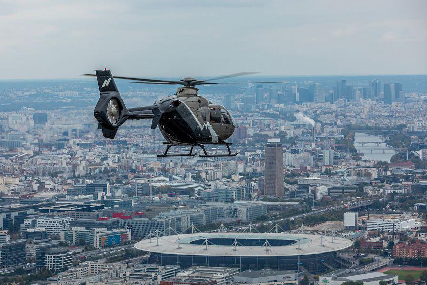Hélicoptères - EC 135 - Mont Blanc Hélicoptères Paris