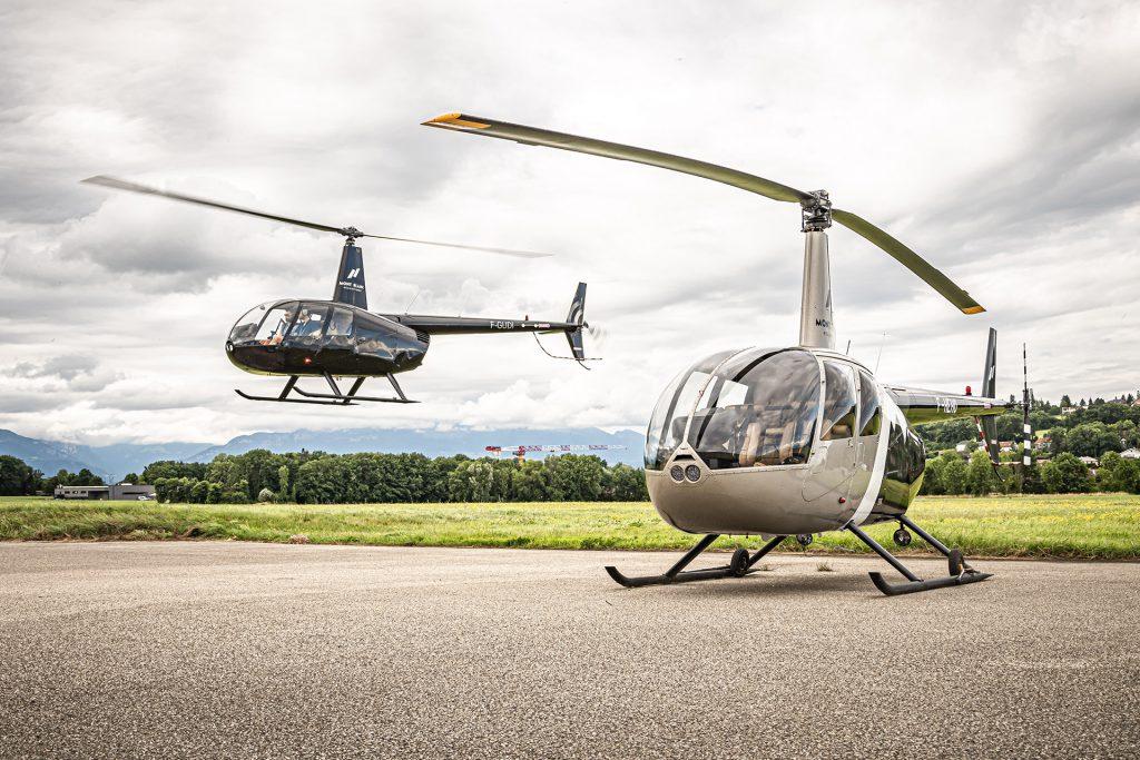 Helicopters - ROBINSON RH44 - Mont Blanc Hélicoptères Paris
