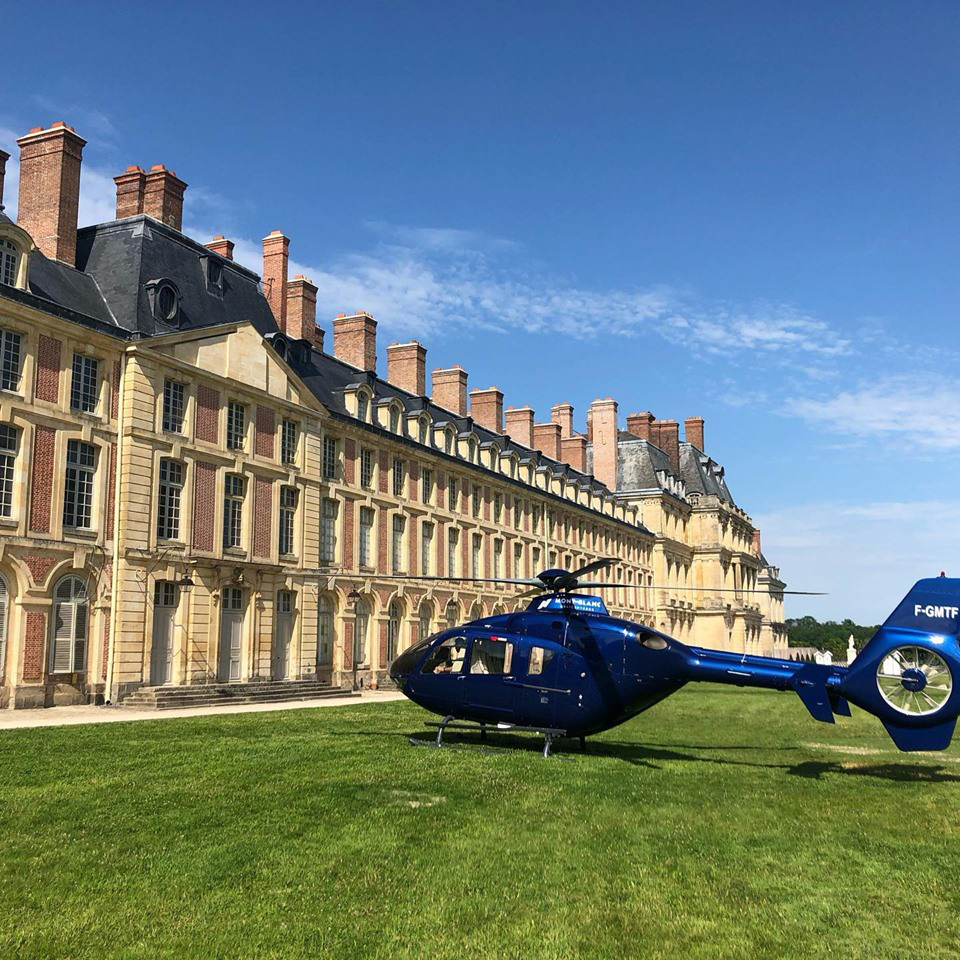 Tourist flights - Discovery - Mont Blanc Hélicoptères Paris